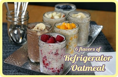 Blueberry Maple Refrigerator Oatmeal