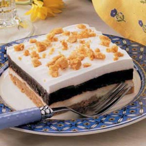 Peanut butter icebox dessert recipe for Dessert recipes using peanut butter