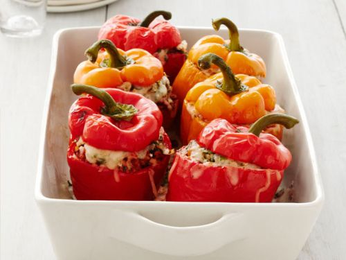 Peppers - Turkey and Rice Stuffed Peppers