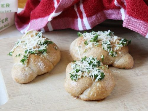 Parmesan-Garlic Knots