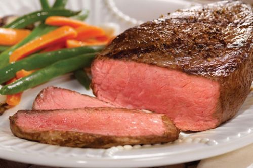 Peppered Top Sirloin Steak