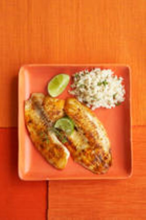 Tilapia with Basil and Lime