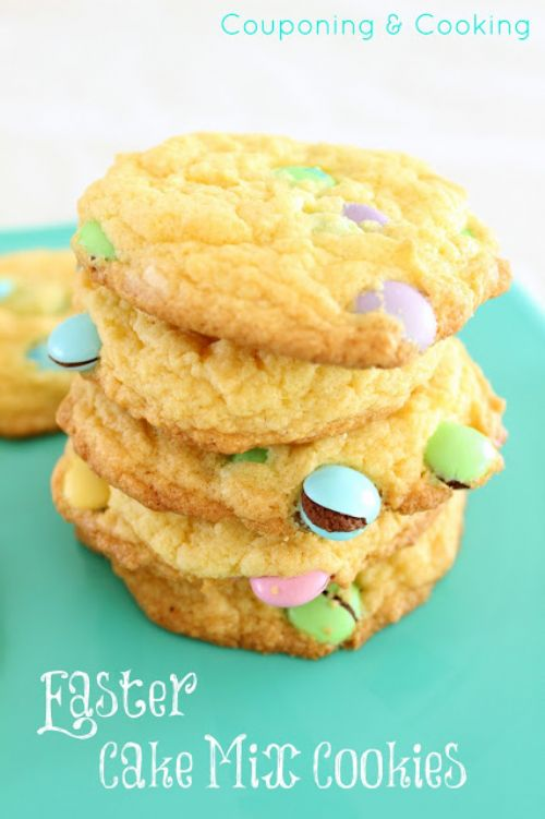 Easter Cookies with Cheesecake Filling