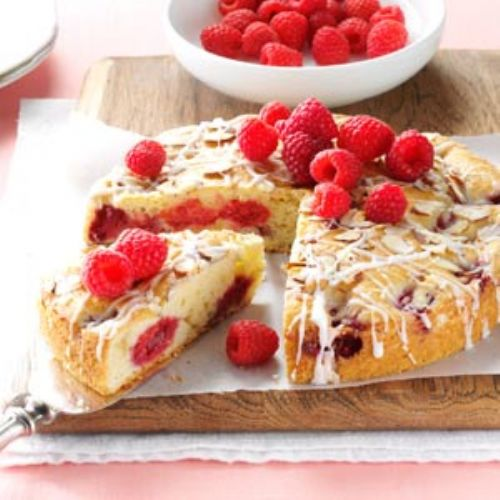 Cake - Raspberry Almond Coffee Cake