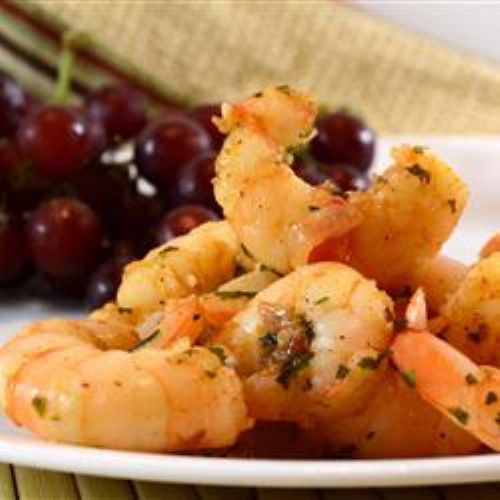 Sizzling Shrimp with Garlic