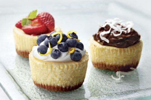 Cheesecake - Philadelphia Mini Cheesecakes