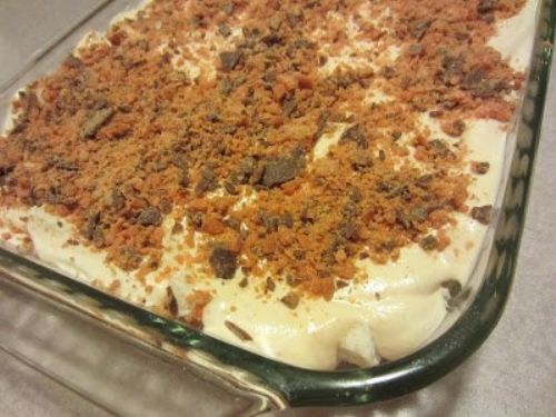 Butterfinger Dessert- Weight Watchers