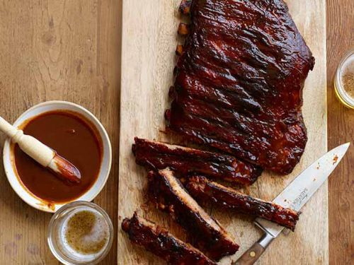 Pork - Ribs with Kansas City BBQ Sauce