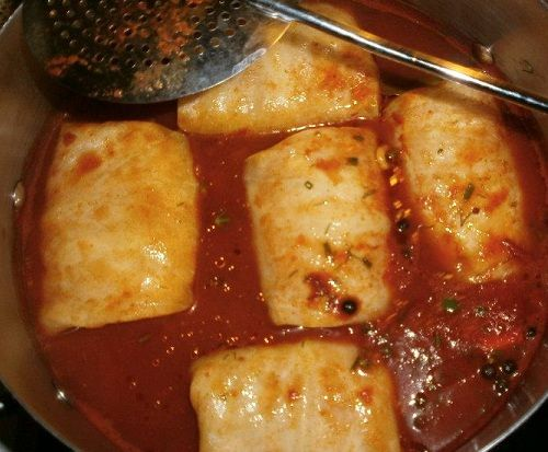 Stuffed Cabbage Rolls with Meat and Rice Recipe