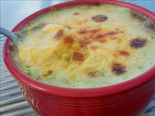 Broccoli Soup With Cheddar