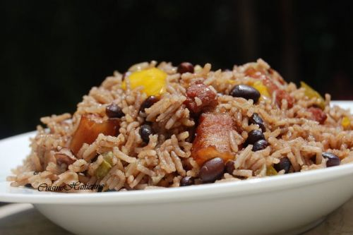 Riz National (Rice and Beans)