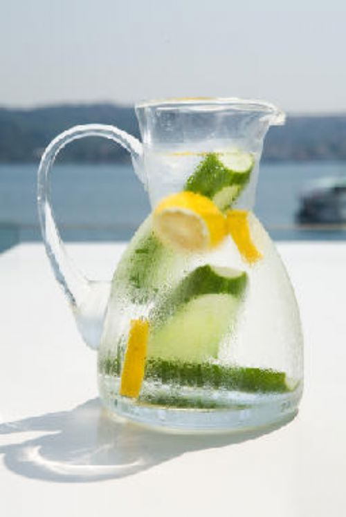 Cucumber and Lemon Medley - Infused Water