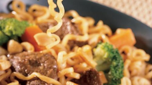 Easy Beef Lo Mein