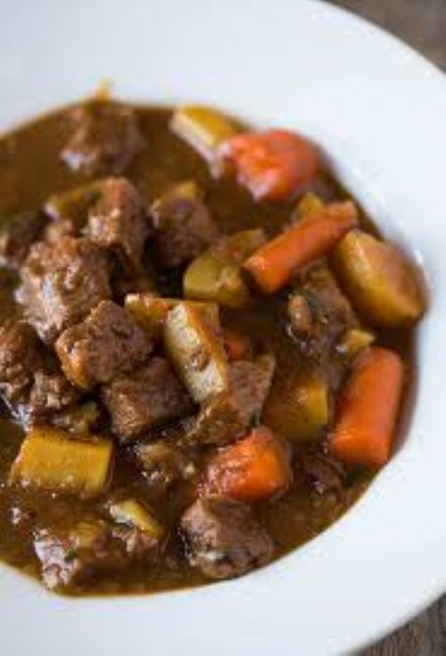 Absolutely delicious beef stew
