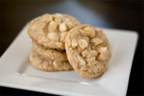 White Chocolate Macademia Cookies