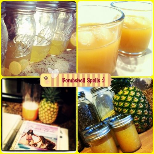 Bombshell Spell Pineapple Juice
