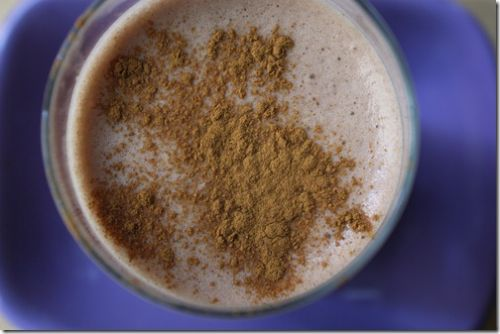 Vanilla Chai Almond Smoothie
