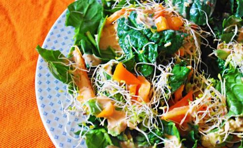 California Spinach Salad