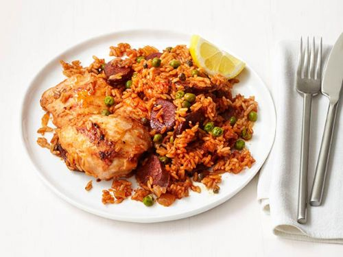 Chicken - Chicken and Chorizo Rice