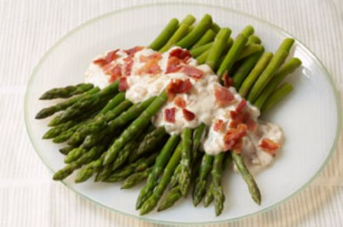 Bacon & Caramelized-Onion Asparagus