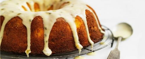 Lemon & Polenta Bundt Cake