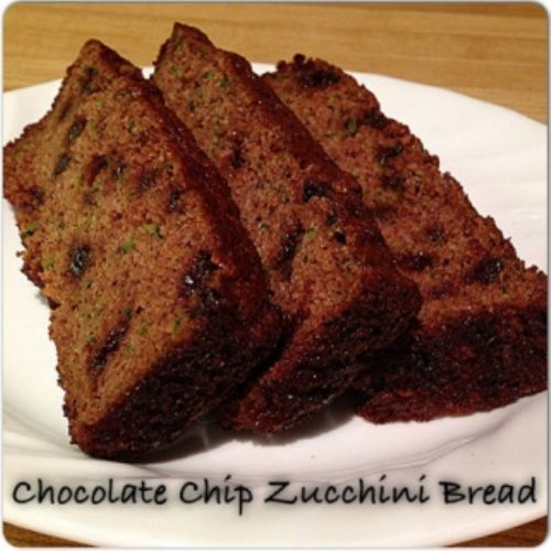 Paleo Chocolate Chip Zucchini Bread