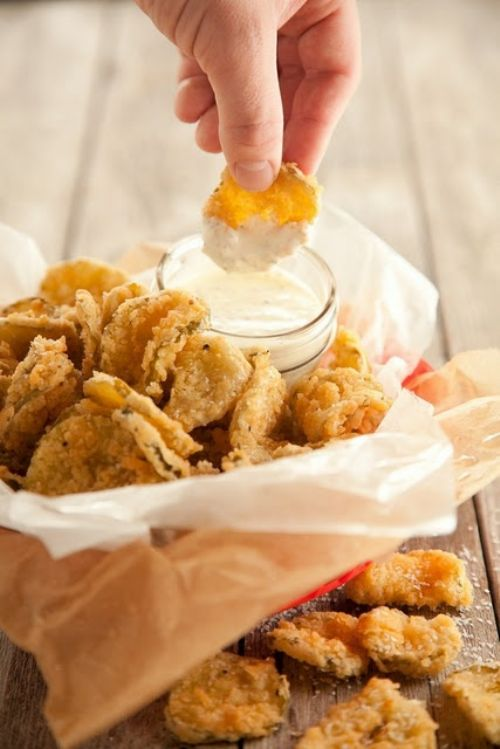 Baked (Fried) Pickles