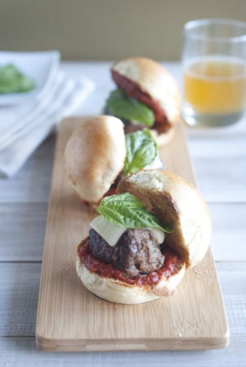 Mini Meatball Sliders