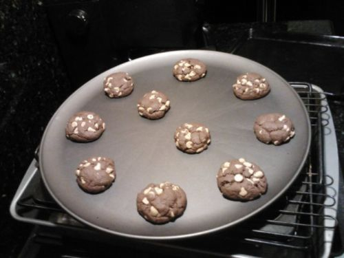 Chocolate Cakebox Cookies (EASY)