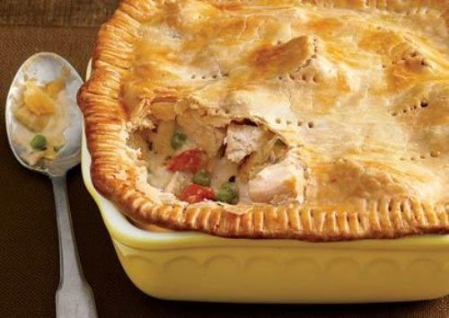 Chicken Vegetable Pot Pie