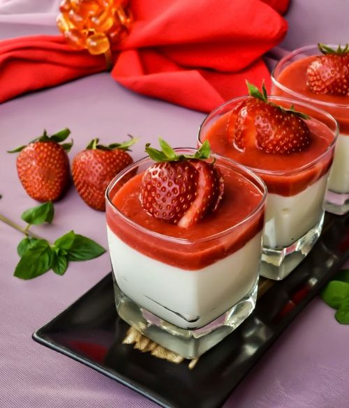 White Chocolate Coconut Mousse