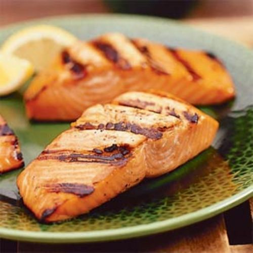 Grilled Salmon Fish