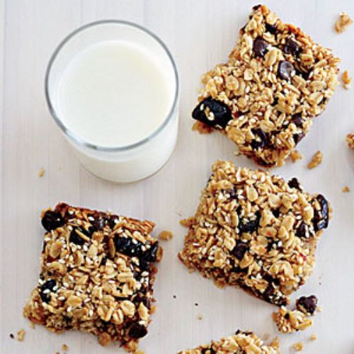 Chewy Oat Squares