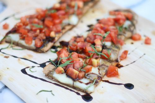 Grilled Bruschetta Flatbreads