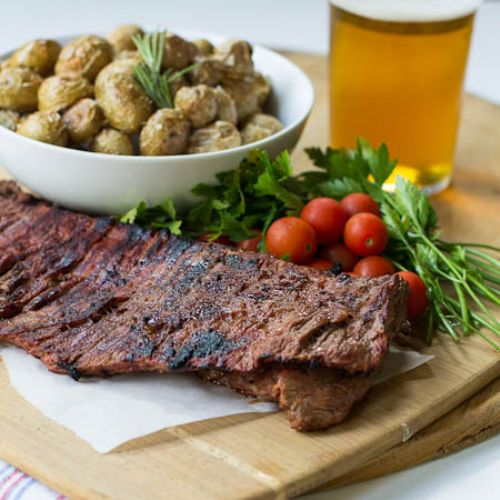 Bloody Mary Skirt Steak Recipe