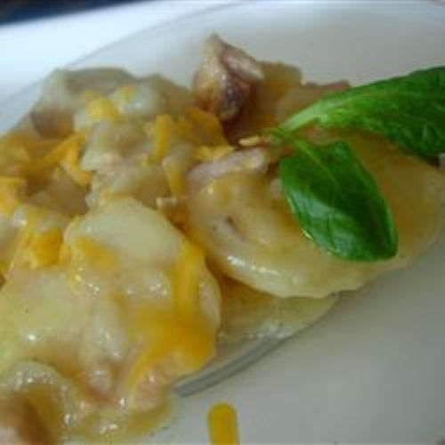 Scalloped Potatoes with Ham