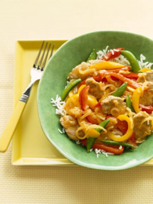 Vegetable Stir-Fry with Rice