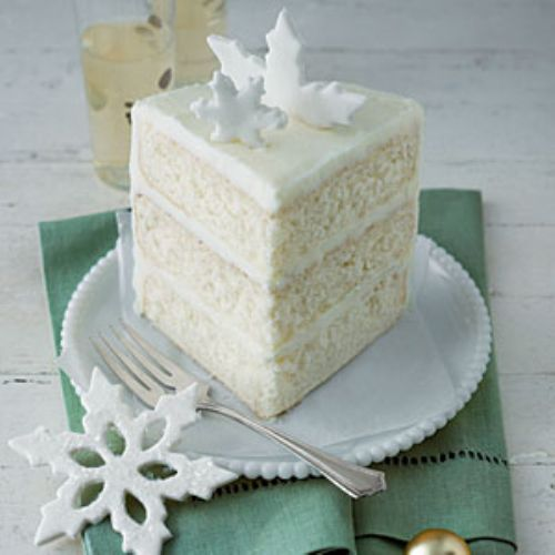 Swiss White Chocolate Cake