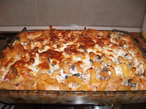 Spinach Tomato Amp Ricotta Pasta Bake Recipe
