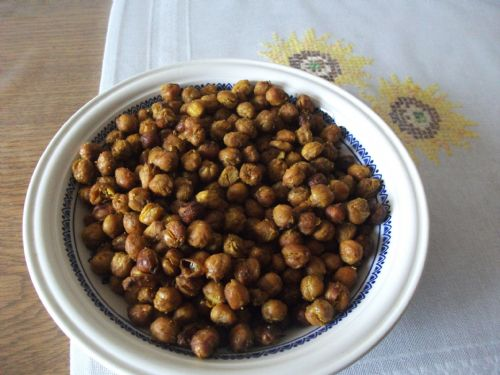 Indian Roasted Chickpeas