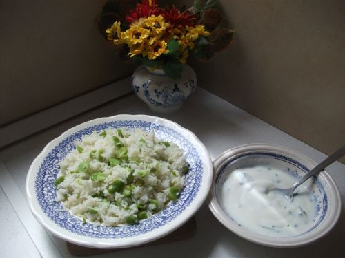 Rice with Broad Beans