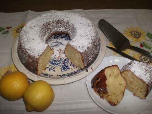 Boiled Lemon Cake
