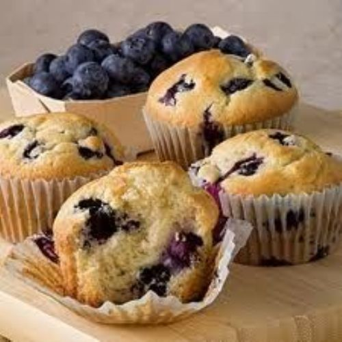 Wholewheat Blueberry Muffins