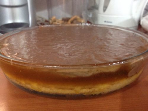 Jaffa Cake Pudding