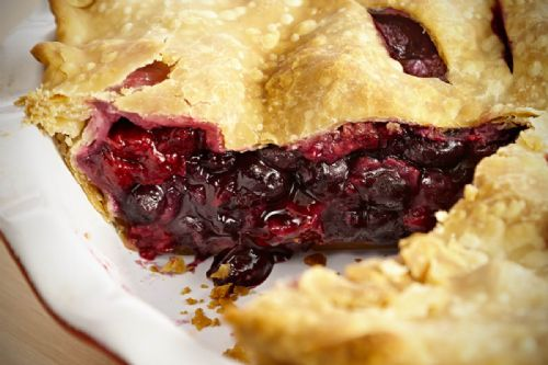 Homemade Berry Pie