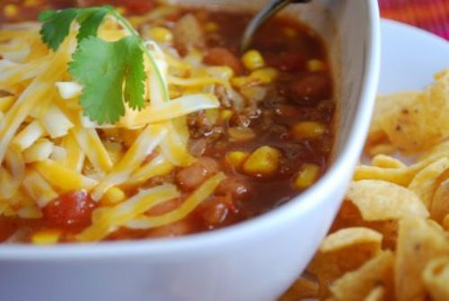 Dr. Pepper Taco Soup