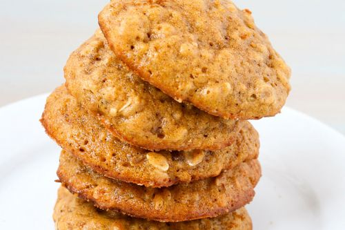 Spiced Pumpkin Raisin Cookies