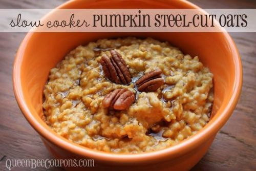 Overnight Pumpkin Pie Steel Cut Oats