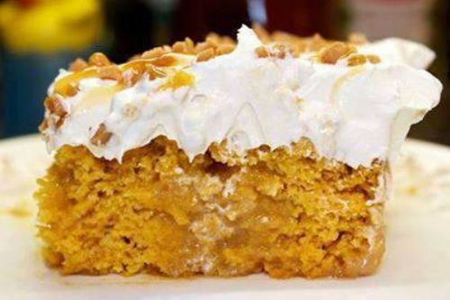 Pumpkin Better Than Sex Cake