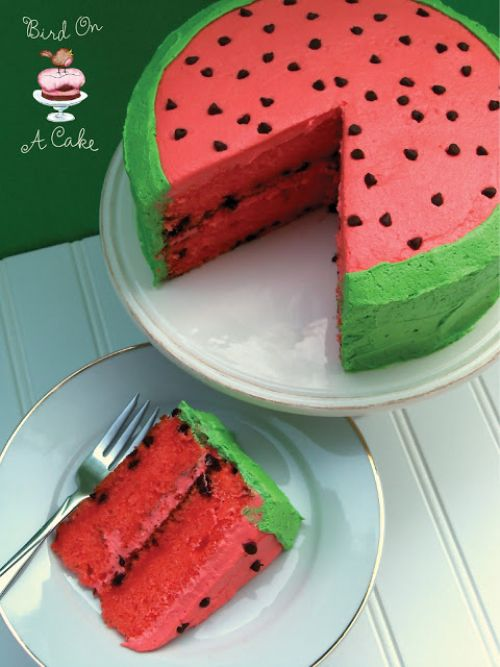 Watermelon falvored Cake